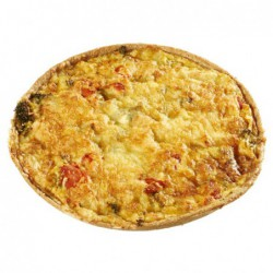 Quiche broccoli-zalm